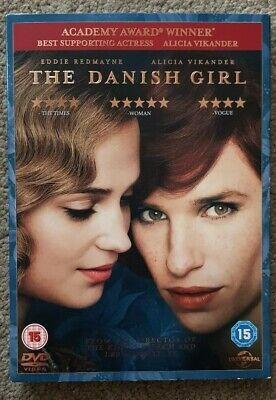The Danish Girl DVD (2016) Eddie Redmayne, Hooper (DIR) cert 15 Amazing Value