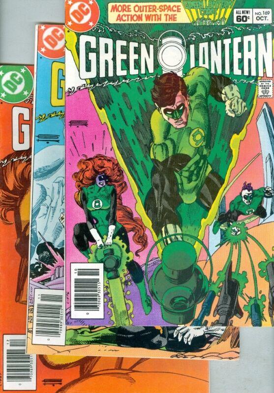 Green Lantern #169, #170 and #171