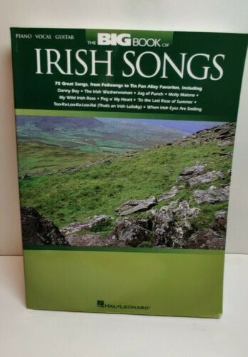 The Big Book of Irish Songs (Various) Piano/Vocal/Guitar Songbook