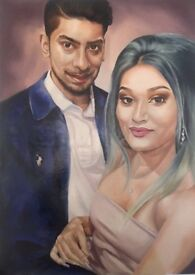 Commission Painting & drawing(portrait,landscape,pet,,)oil Painting,charcoal,pastel,pencil,acrylic,,