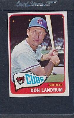 1965 Topps  596 Don Landrum Cubs Ex  1786