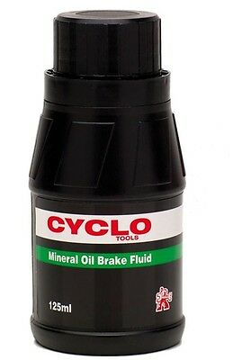 Bike-Cycle-Bicycle Weldtite Mineral Brake Oil Fluid 125ml