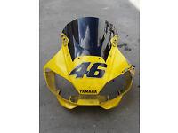 Yamaha YZF R6 1999 (5EB) - Yellow Fairing Set