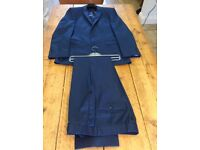 Men's airforce blue suit - 38 Long x 34 Long