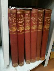 Coppice - Second Great War Books x6