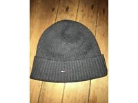 Tommy hilfiger grey beanie hat