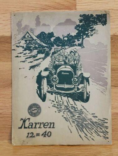1912 Warren 12-40 Sales Catalog
