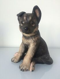 Lenox fine porcelain German Shepherd puppy
