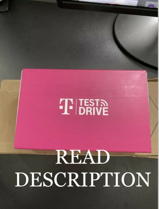 T-Mobile Test Drive WiFi Hotspot 30 GB & 30 Days Of Service UNOPENED Read Desc.