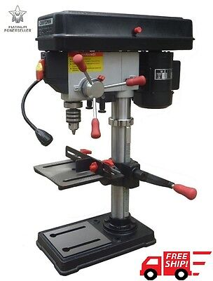 "Craftsman 10"" Bench Drill Press Laser 1/2 HP Motor Tools Power Laser Garage"