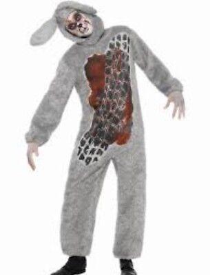 Zombie Rabbit Bunny Roadkill Costume Fancy Dress Medium