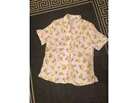 Size 10 vintage floral shirt