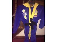 Fireman Sam dressing gown 2-3 years, only worn once