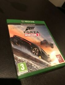 Forza horizon 3 Xbox one good condition