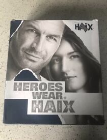 Brand new in box with tags men's haix combat boots