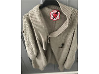 C red or dead cardi size 12