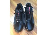MENS BLACK PRADA TRAINERS BRAND NEW (without box)