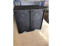 Martin audio blackline s218 speakers subwoofers (have 3 in stock)
