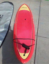 Stand up paddle board in bag and carbon fiber paddle in bag Newtown Inner Sydney Preview