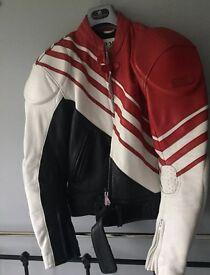 Hein Gericke Leather Armoured Motorcycle/Motorbike Jacket