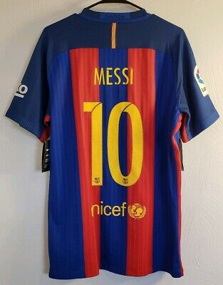 528f840942e Nike Barcelona Messi 15/16 Authentic Home Jersey / Shirt - (Size L) *NWT