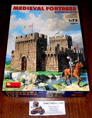 Medieval Fortress  Mittelalterliche Festung  Maßstab 1:72   MiniArt 72004 Neu