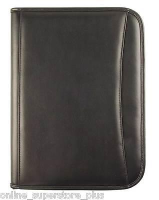 Dalix Executive Faux Leather Padfolio Organizer Planner Notepad Folder New