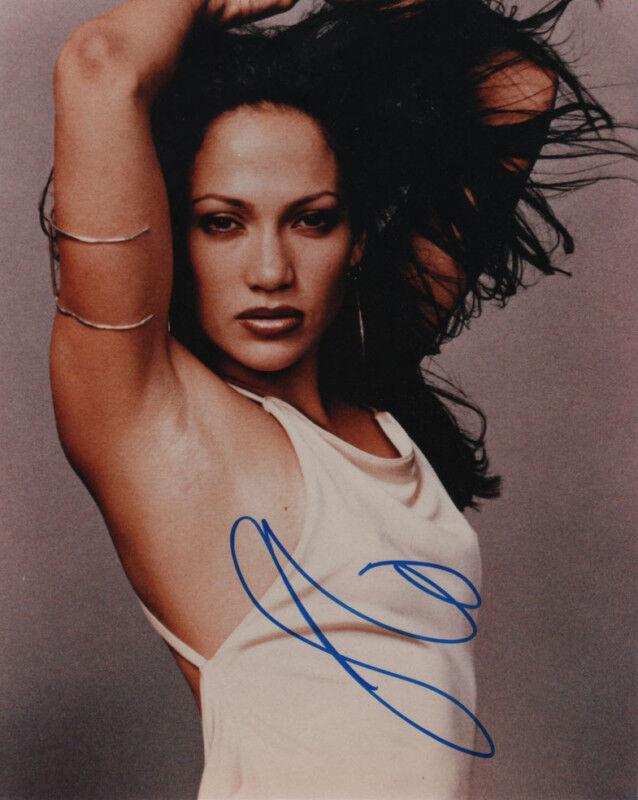 Jennifer Lopez J Lo Sexy SIGNED 8x10 Photo COA!