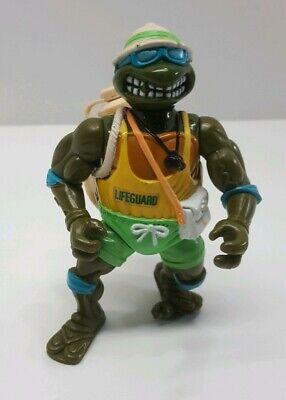 Vtg 1992 TMNT Playmates Lifeguard Leo  Ninja Turtles
