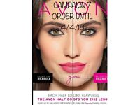 AVON CAMPAIGN 7, order up until 4/4/18