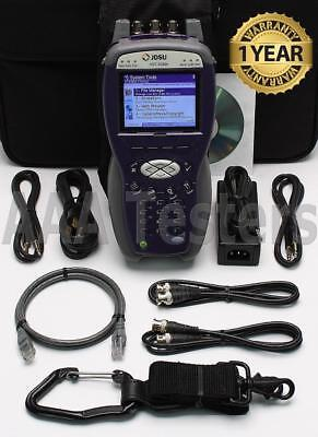 Jdsu Acterna Hst-3000c Tester W Hst-3000 Sim T1 T3 Module Hst 3000 Hst3000