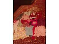 Bundle of girls clothes from size 2 to 4 years