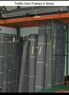 96 X 96 Swinging Door Frames. Hollow Metal Knock Down Traffic Door Frames.