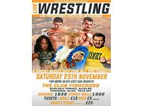 Live family-friendly Wrestling I. Fishcross, Alloa