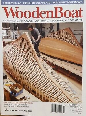 Wooden Boat UK October 2017 Small Boat Building in Norway FREE SHIPPING CB