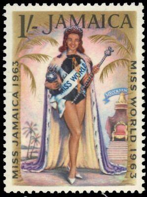 "JAMAICA 206 (SG215) - Carole Joan Crawford ""Miss World"" (pa89932)"