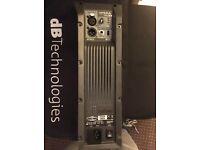 "Db 602d 12"" amp"