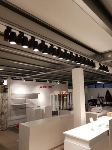 ≥ winkelverlichting railverlichting etalage verlichting - Kantoor ...