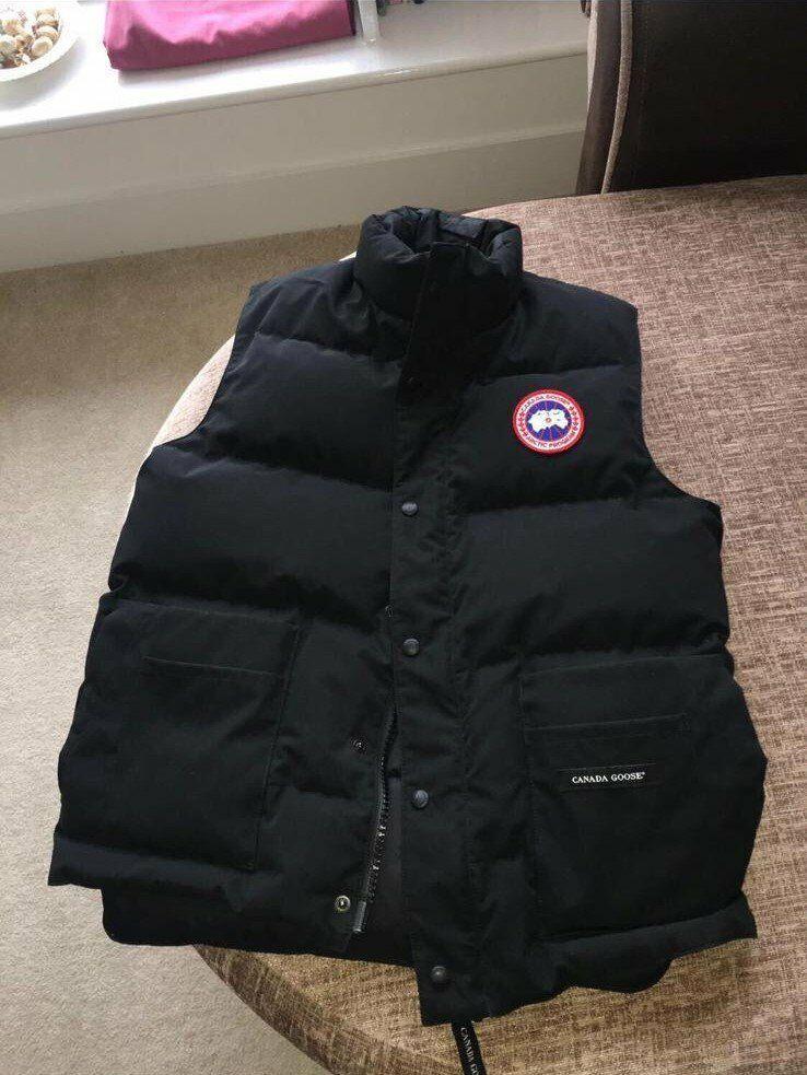 89577e46abe8 BRAND NEW - Canada Goose Freestyle Crew Mens Body Warmer Gilet Padded Jacket  Black - SMALL MEDIUM