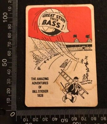10 Two Sided Mats (VINTAGE BEER MAT COASTER - TWO SIDED - GREAT STUFF THIS BASS   (FF10) )