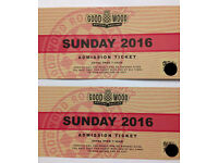 Goodwood Revival Tickets for Sunday