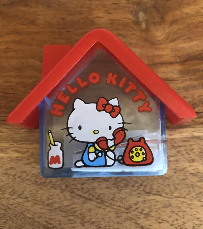 Vintage Hello Kitty 1976 Sanrio Collectible  Pencil Sharpener~ NEW