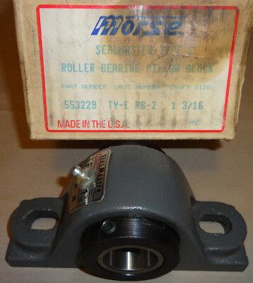 Sealmaster Morse Ty-e Pb-2 Pillow Block Bearing Rpb103c2 Shaft 1-316 553229 New