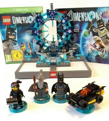 Lego Dimensions Xbox One Complete Starter Pack 71173 w Game Portal & Minifigures
