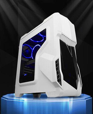 Customize Computer Case Desktop PC Gaming Mid Tower Liquid Cooling Segotep GANK
