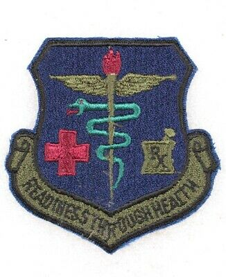 USAF Air Force Patch: Moody AFB Hospital - subdued