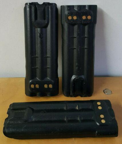 Lot of 3 - EF Johnson Handheld Radio Battery- 7.5 Volts Ultra High Capacity NIMH