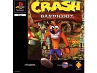 Crash Bandicoot PS1 Pal Games