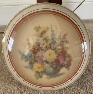 Avon Photo Album Vintage Victorian Style Collectible Holds 35 Photos Ribbon Closure Floral Decor