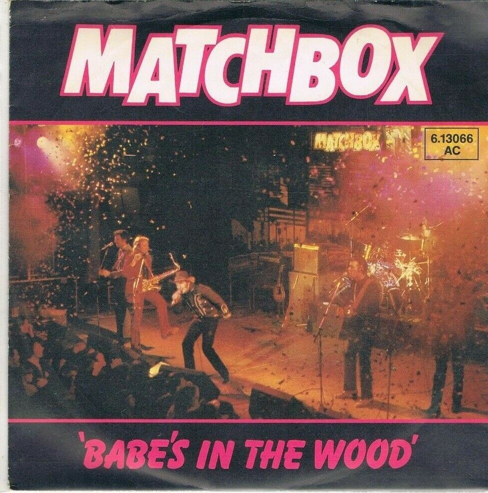 """7"""" - MATCHBOX - BABES´ IN THE WOOD - german PS"""